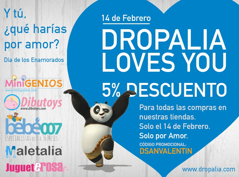 Descuentos por San Valentín: solo por amor.