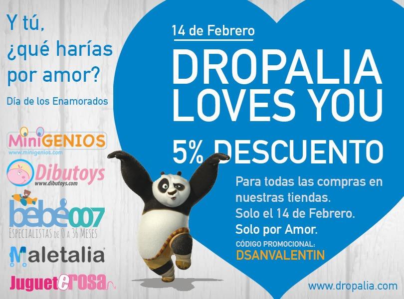 San Valentín en Dropalia
